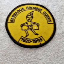 Barbados Brownie Guides Patch  1920 to 1925 - $9.49