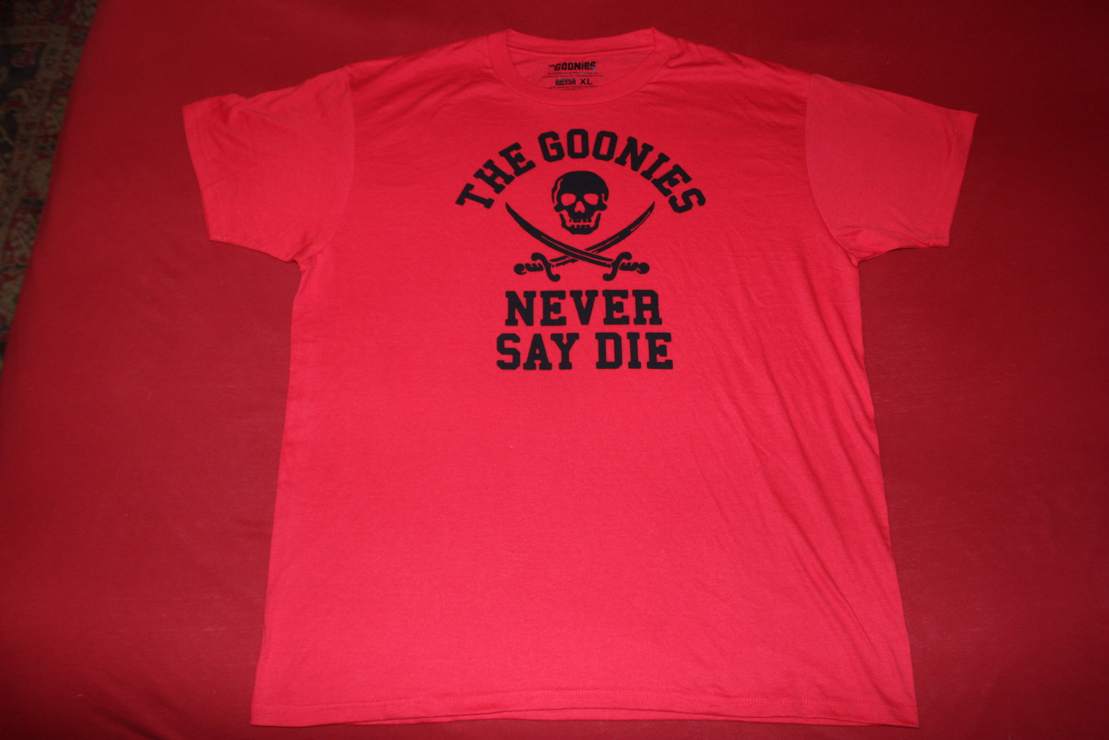 The Goonies, Never Say Die, XL Mens T-Shirt
