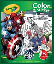 Crayola Avengers Color & Sticker Book, Gift Books for Kids, Age 3, 4, 5, 6 - $11.99