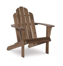 Linon Home Dcor Home Decor Teak Wood Stock Chair, 30.4' wx37.6 dx37.8 h, Stain - $999.99