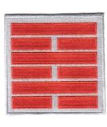 G.I. Joe Snake Eyes Ninja Clan Red & Silver Logo Patch, NEW UNUSED - $7.84
