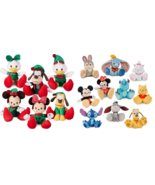 Disney Store Tiny Big Feet Plush Limited Holiday Micro New 2018 - $14.95