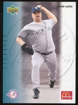 2003 Upper Deck McDonald's New York Yankees  Restaurant 21 David Wells - $3.00