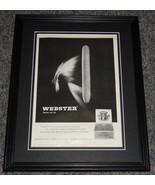 1959 Webster Cigars 11x14 Framed ORIGINAL Vintage Advertisement Poster - $41.71