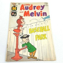 Little Audrey and Melvin #25 GD 2.0 July 1966 Low Grade Complete Harvey Comics - $3.95