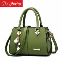 Women Leather Handbag Shoulder Bag Ladies Purse Tote Messenger Satchel M... - $20.78+