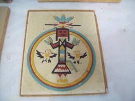 "Navajo Sand Art Painting Circle of Strength, 5.5"" x 4.5""  S3 - $19.79"