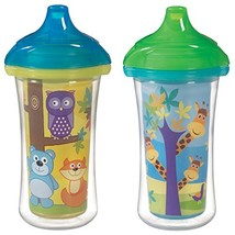 Munchkin Click Lock 2 Count Insulated Sippy Cup, 9 ounce - $17.60