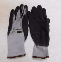 Sperian Tough Coat Grey/Black Gloves Size Large 1 Dozen Pair 200-L - $16.63