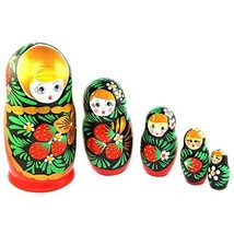 Gabriella's Gifts Authentic Russian Hand Painted Handmade Nesting Dolls ... - $34.25