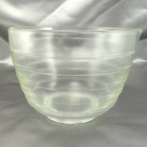 Pyrex Westinghouse Beehive Bowl 1.5qt Vintage Clear Glass Mixer w/ Pour ... - $14.95