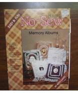 No Sew Album, Photo Album Pattern, Memory Album, Plaid's Patterns Keepsake - $5.00