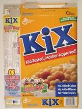 MT GENERAL MILLS Cereal Box KIX 1997 9oz BREAKFAST BABIES [G7D5c] - $12.63