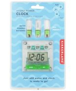 Kikkerland Hydro Power Clock - $24.75