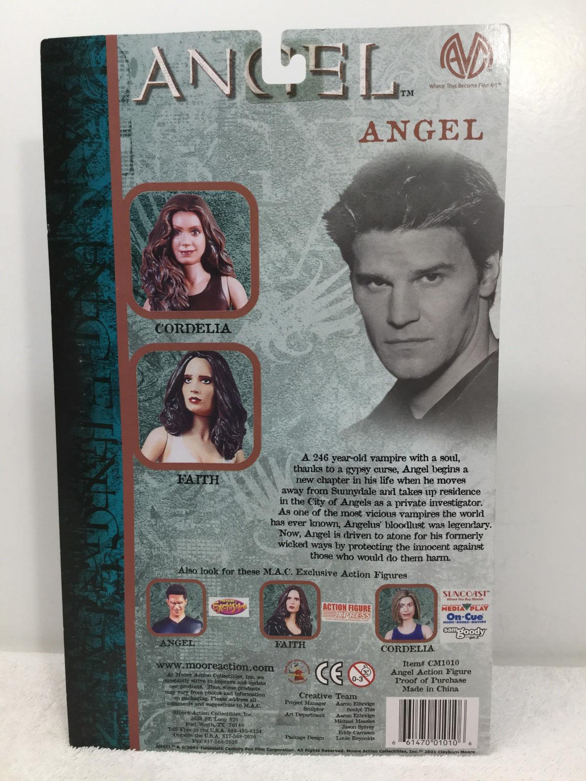 "Angel 6"" Angel Action Figure Regular Ver. Season 1 - Moore Action FS 2001"