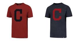 MLB Genuine Cleveland Indians Men's Scrum Tee Shirt Baseball T-Shirt Licensed