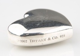Tiffany & Co. Sterling Silver Heart Keychain No Rubber Band Doubles as Pendant! - $356.40