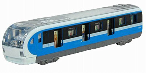 Primary image for Black Temptation Simulation Locomotive Toy Model Trains Toy Subway, Blue ( 18.54