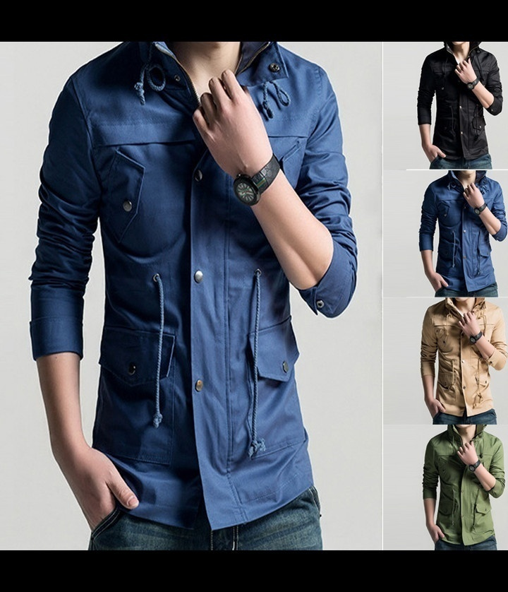 In-kind Shooting US SIZE XS-XL Top Quality Tops 2018 new hot mens jackets cotton