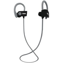 Naxa Performance Bluetooth Wireless Sport Earbuds With Ear Hook (gray) - $13.37