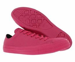 Converse Chuck Taylor All Star OX Vivid Pink Black 155185C Mens Low Top Shoes - $49.95