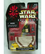 Vintage Star Wars Episode 1 TATOONIE Action Figure Accessory Toy Set 199... - $14.85