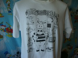Vintage 90's Karl The Recidivist Pig 1993 John Beach T Shirt XL  - $49.49