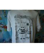 Vintage 90's Karl The Recidivist Pig 1993 John Beach T Shirt XL  - $49.49
