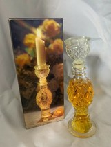 1973 Avon regency candlestick Bird of Paradise Cologne Full Original box... - $14.96