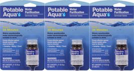 Potable Aqua Camping Water Purification Germicidal 150 Total Tablets - $29.99