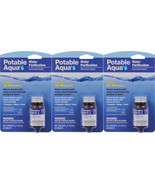 Potable Aqua Camping Water Purification Germicidal 150 Total Tablets - $29.99
