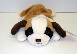 "Ty Beanie Baby ""Bernie""  Dog : China Made : P.E. Pellets - $7.72"