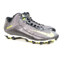 90d33eb9d Mens Nike Alpha Football Cleats Size 11 Gray Laces FastFlex Pro Mid Black -  £19.38 · Add to cart · View similar items