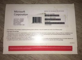 Microsoft FQC-08295 - Sealed OEM Microsoft Windows 7 Pro SP1X64 SP1 Engl... - $105.00
