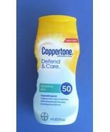 COPPERTONE DEFEND & CARE SENSITIVE SPF 50 SUNSCREEN LOTION-6 FL OZ - $9.00