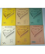 Lot of 6 International Dance Music for Piano Solo Vintage Classic Sheet ... - $30.00