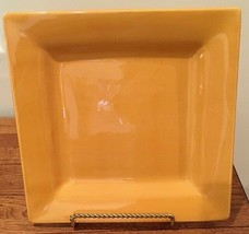 """Tabletops Unlimited Espana Yellow CORSICA BUTTER 10 3/8"""" Square Dinner P... - $23.36"""