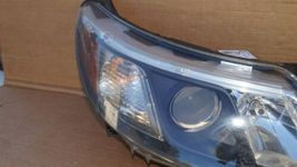 08-12 Saab 9-3 Halogen Headlight Lamps Set Pair L&R image 2