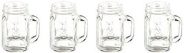 Kikkerland Mason Jar Shot Glasses, Set of 4 - £14.37 GBP