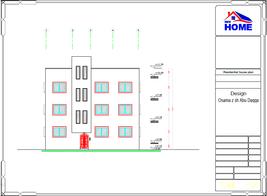Custom Modern House Plans 9 Bedroom & 9 Bathroom With Original CAD & PDF  - $24.74