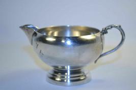 Vintage Viking Silver Plate E P Copper Creamer - $7.89