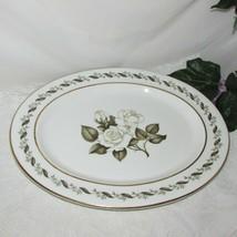 Royal Worcester Bernina Large Oval Serving Platter Bone China England Flower - $71.99