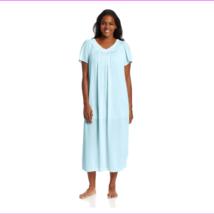 Miss Elaine Women's Plus-Size Mid-calf Length Tricot Flutter Sleeve Long... - $18.12