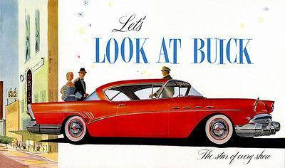 Primary image for 1957 Buick - Promotional Advertising Poster