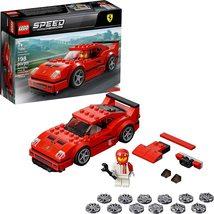New LEGO Speed Champions 75890 Ferrari F40 Competizione Building Kit - $12.99