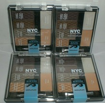 NYC New York Color Individual Blue Eye Shadow #942 Smokey Blues Lot of 4... - $24.27