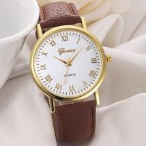 Geneva Women Men Watch Fashion Unisex Alloy Band Analog Quartz Wrist Watch Leisu - $5.00+