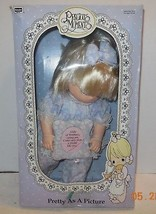 "1992 PRECIOUS MOMENTS BABY DOLL PRETTY AS A PICTURE ""Anna Marie"" 14"" NRFP - $70.13"