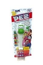 Nintendo Super Mario PEZ Dispenser and Candy (Yoshi) - $13.72