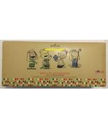Hallmark Peanuts Gang Gallery Set of 4 Nativity Accessories Christmas Ki... - $149.99